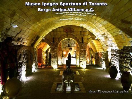 Visita l'unico Museo Ipogeo Spartano nel mondo