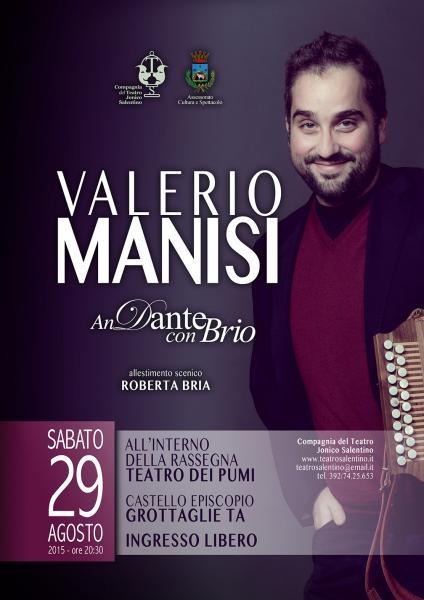 """Valerio Manisi in """"AnDante con Brio"""""""