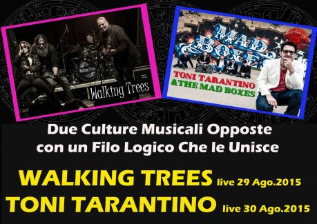 WALKING TREES live