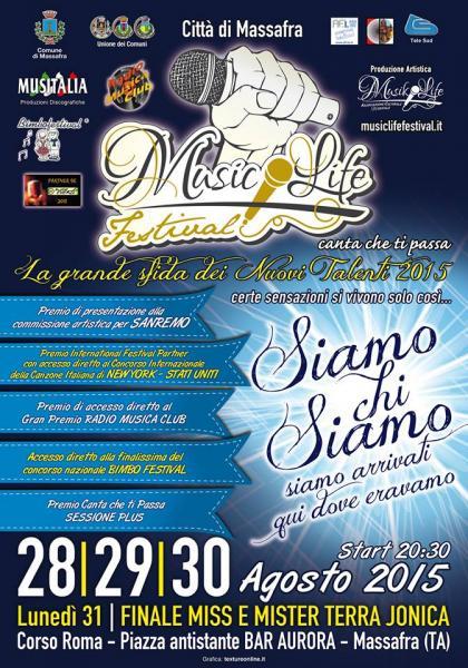 Music Life Festival Canta che ti passa 2015