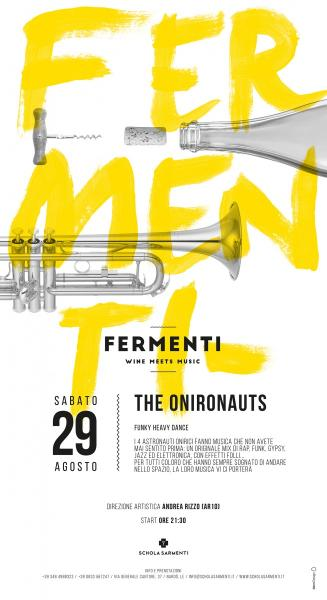 "THE ONIRONAUTS in concerto a ""Fermenti"""