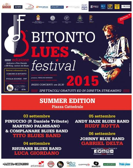Bitonto Blues Festival 2015 - SUMMER EDITION