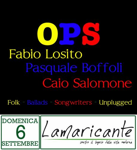#LamaDay: Ops in concerto - Folk & Ballads