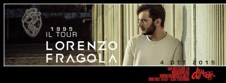 Demodè Club, domenica 4 ottobre ecco Lorenzo Fragola