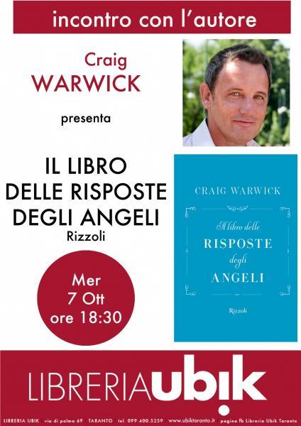 Craig Warwick alla Ubik!