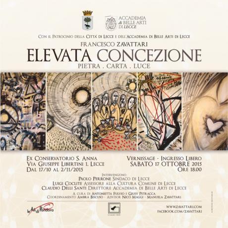 Elevata Concezione. Francesco Zavattari a Lecce