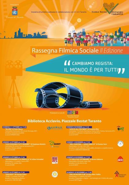 """Rassegna Filmica Sociale - Proiezione Film """"Dallas Buyer Club"""""""