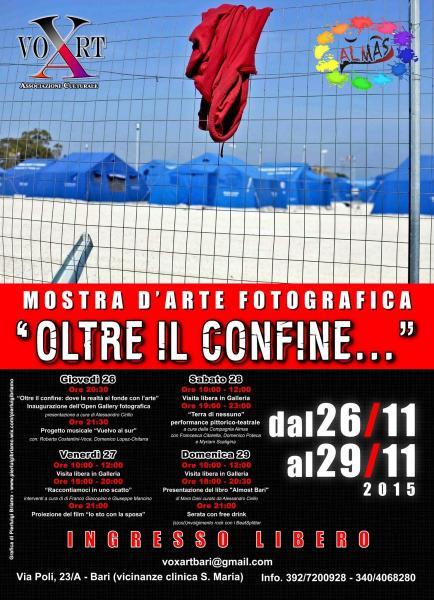 Oltre il Confine... Open Gallery  Fotografica