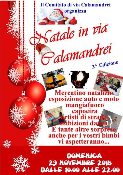 Natale in via Calamandrei: al via il 29 novembre la seconda edizione
