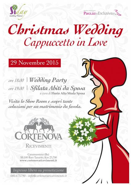 Christmas Wedding - Cappuccetto in Love