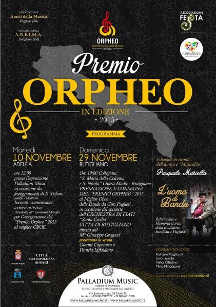 "Premio Regionale ""Orpheo"" 2015"