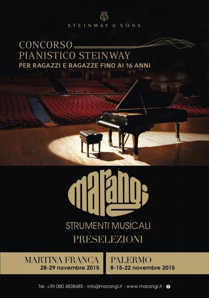 Concorso pianistico Steinway under16: concerto finale
