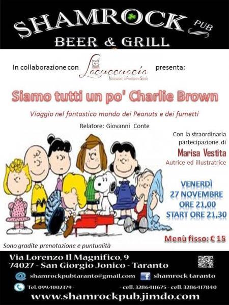 Siamo tutti un po' Charlie Brown - Viaggio nel fantastico mondo dei Peanuts e dei fumetti