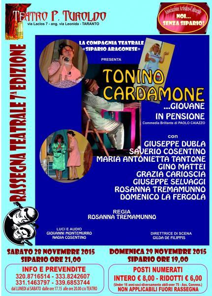 Tonino Cardamone... giovane in pensione