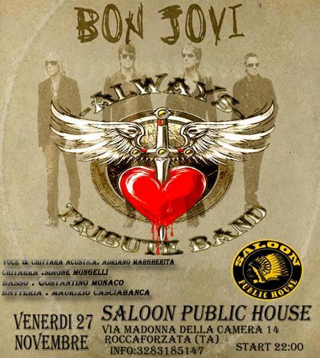 Always Bon Jovi Tribute Live