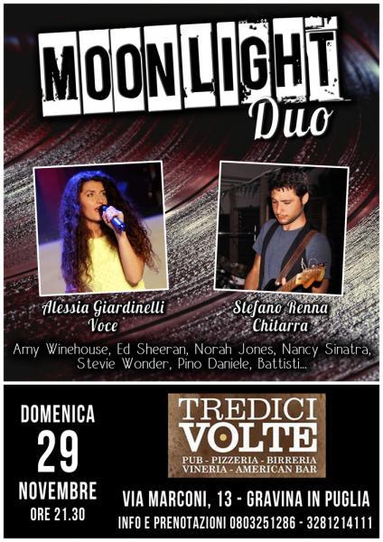 Moonlight Duo live al Tredici Volte