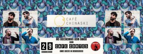 CAFE' CHINASKI live at Cafè Cortes, Casarano LE