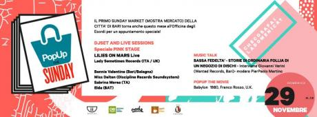 POPUP THE SUNDAY #9 - Speciale PINK STAGE
