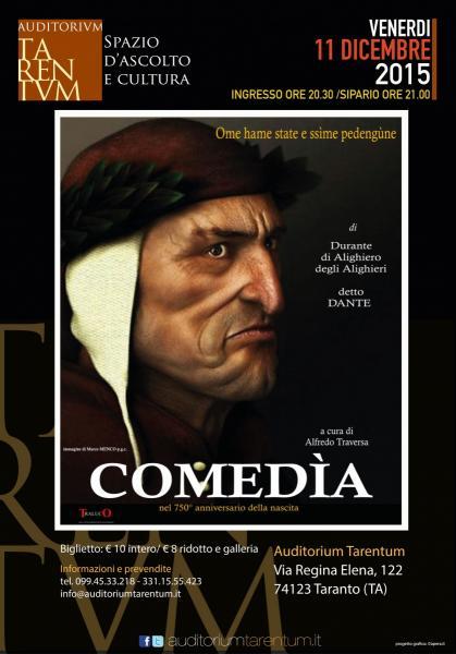 COMEDIA / 750anni dalla nascita di Dante Alighieri