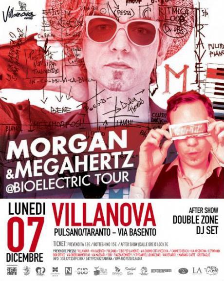 MORGAN & MegaHertz live concert Bioelectric Tour