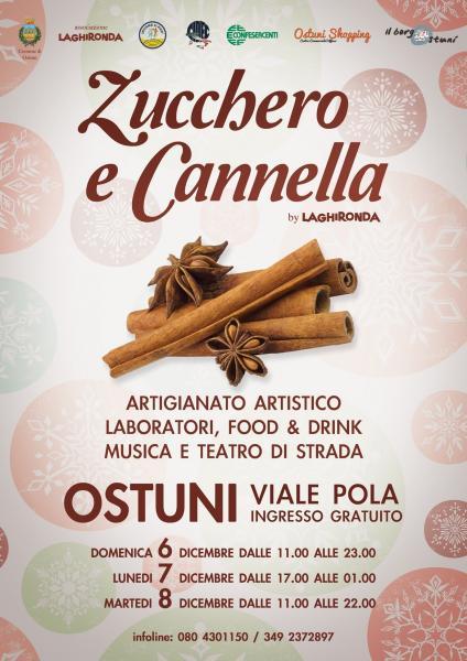 Zucchero e Cannella - Tre giorni di saperi e sapori, a Ostuni il primo appuntamento invernale targato La Ghironda