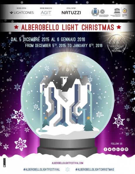 Alberobello Light Christmas