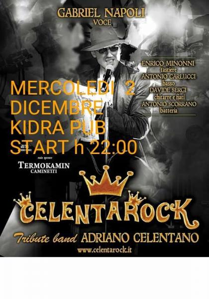 "CELENTAROCK...""Celentano Tribute Band """