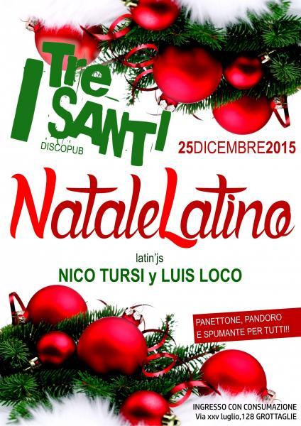 Natale In Latino.Il Tacco Di Bacco