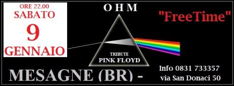 OHM PINK FLOYD - live - FREE TIME - Mesagne (BR)