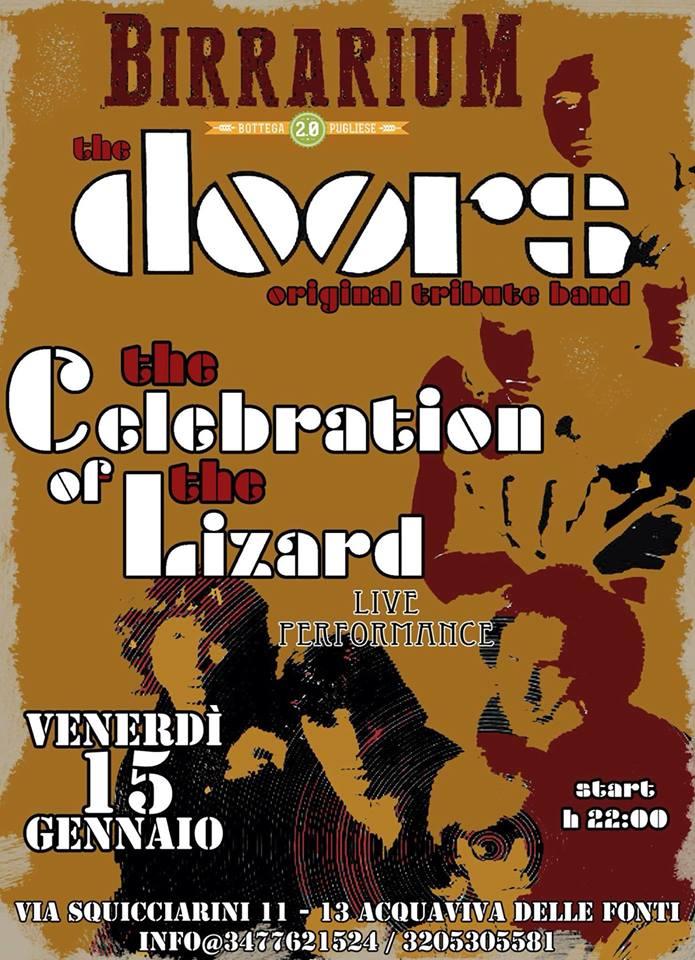 The Doors - Celebration Of The Lizard Lyrics