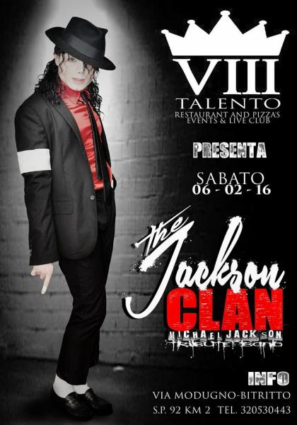 The JACKSON CLAN Michael Jackson Tribute Band LIVE