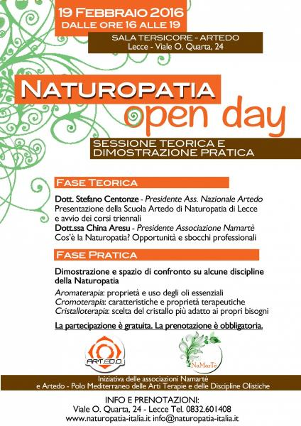 Open Day - Naturopatia