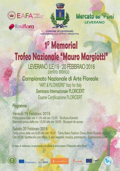 Leverano Nei Fiore. Seminario Florcert