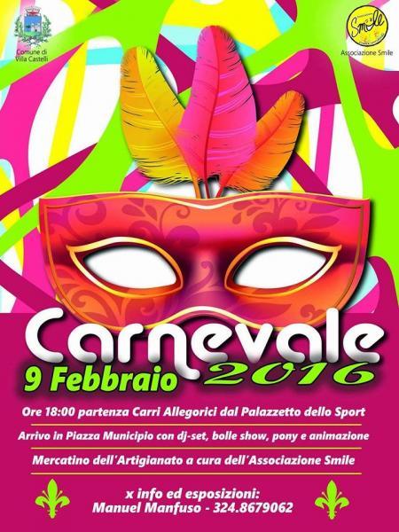 Carnevale 2016 a Villa Castelli