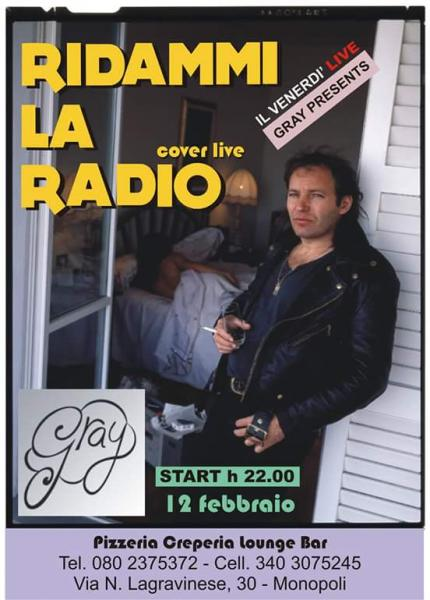 Ridammi la radio (Vasco cover band) in concerto