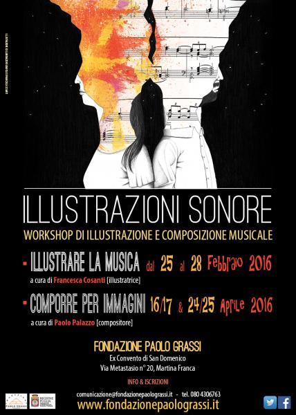 Illustrazioni sonore - Presentazione del Workshop di illustrazione e composizione musicale