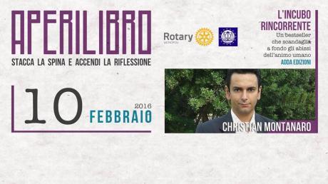 """""""APERILIBRO"""" al Bocafè - Romanzo di Christian Montanaro"""