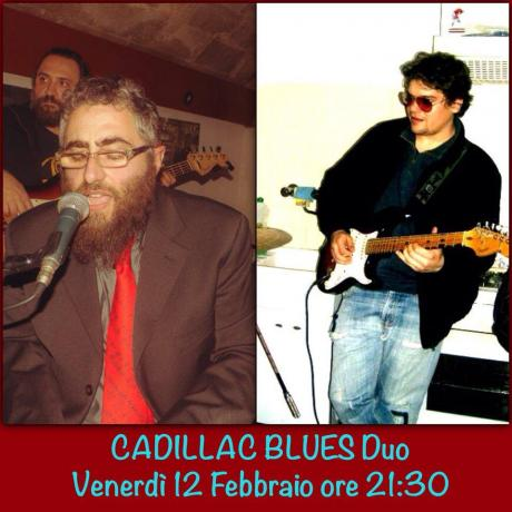 Cadillac Blues Duo al Club 84 di Maglie