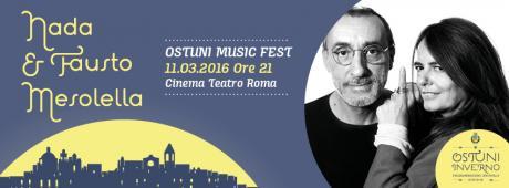 Venerdì di musica con Nada e Fausto Mesolella