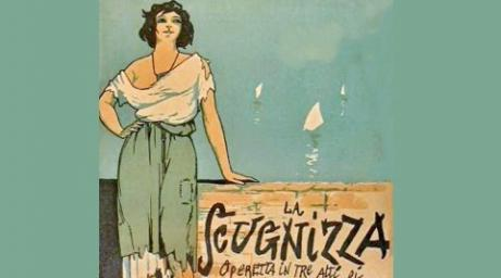 SCUGNIZZA operetta di Mario Costa