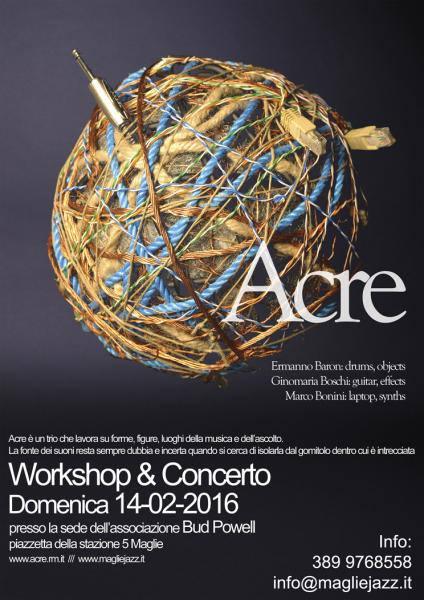 "Concerto e Workshop ""Acre"""