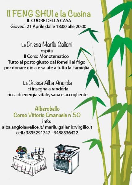 Nel cuore della casa: Feng Shui e Cucina - Alberobello - il Tacco di ...