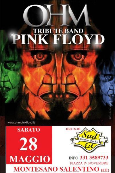 Ohm Pink Floyd live - Montesano Salentino (Le) - Sudest Cafe'