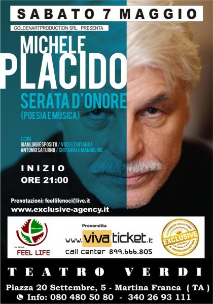 """""""Serata d'onore"""" con Michele Placido"""