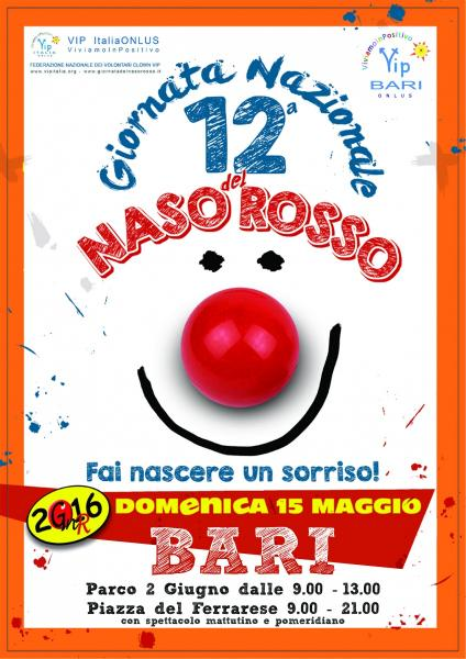 12° Giornata del Naso Rosso - Bari