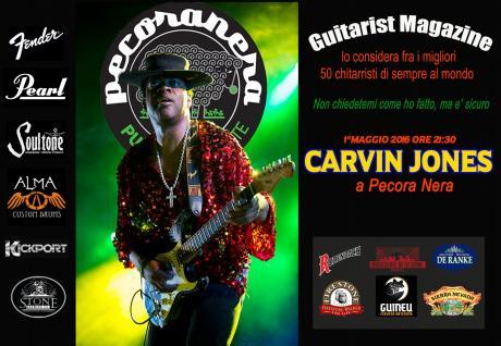 Carvin Jones live