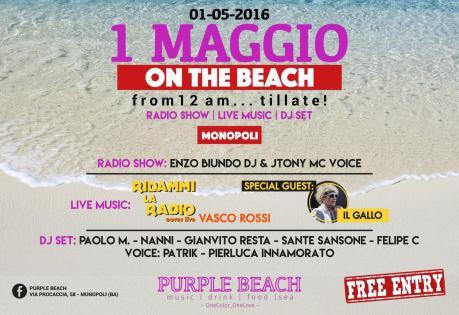 """Ridammi la Radio live Vasco con Claudio """"Gallo"""" Golinelli"""