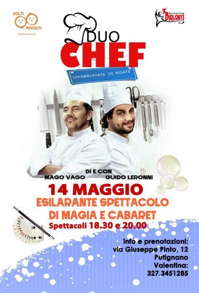 Duo chef - Un'abbuffata di risate