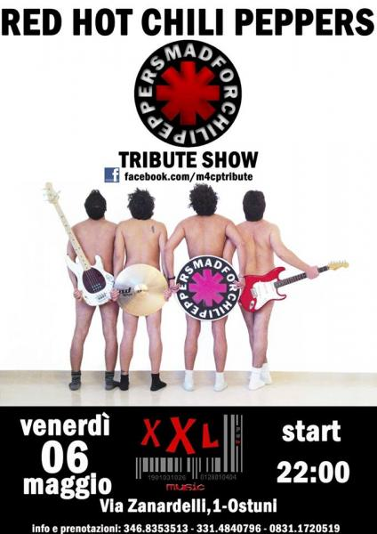 Mad For Chili Peppers (a Tribute to Rhcp) live in Concert