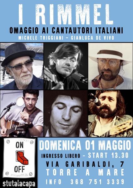I Rimmel: Omaggio ai cantautori italiani